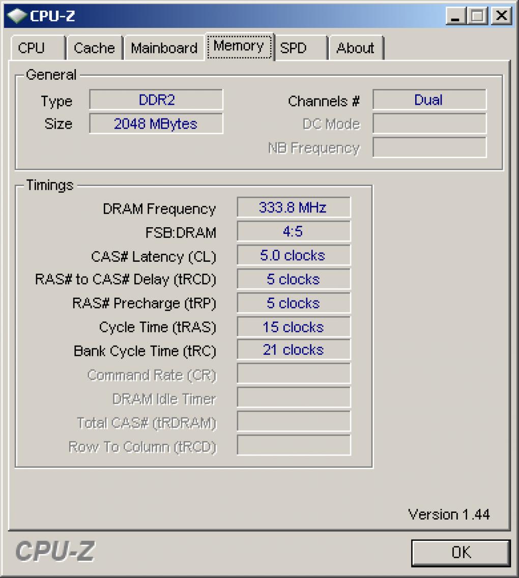 Download: CPU-Z 1 44 1 - CPU-Details auslesen