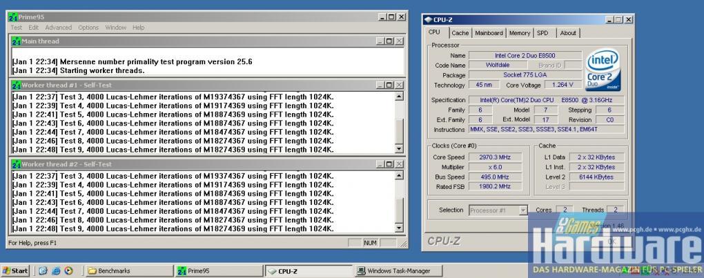 PCGH-Test: BIOS-Update bringt höheres Overclocking-Potenzial