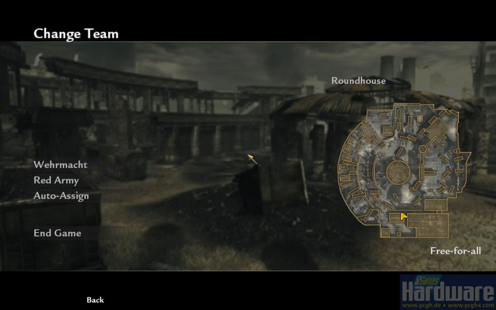 Call of Duty 5 World at War: Map Roundhouse