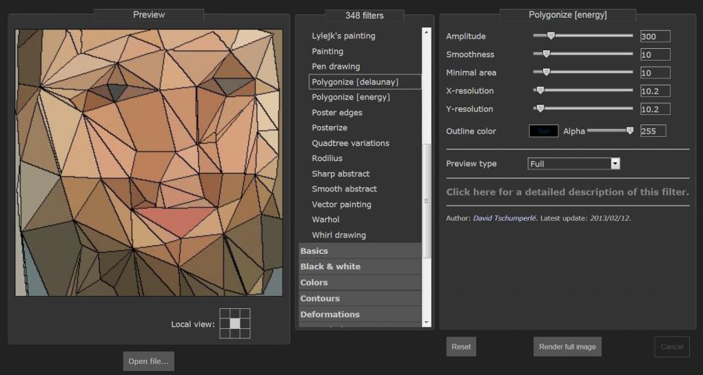 strongMedienbearbeitung unter Linux: /strongG'MIC Filter für Gimp oder als Standalone-Online-Tool