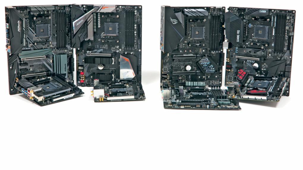 [PLUS] 8 günstige AM4-Mainboards für AMD Ryzen im Test