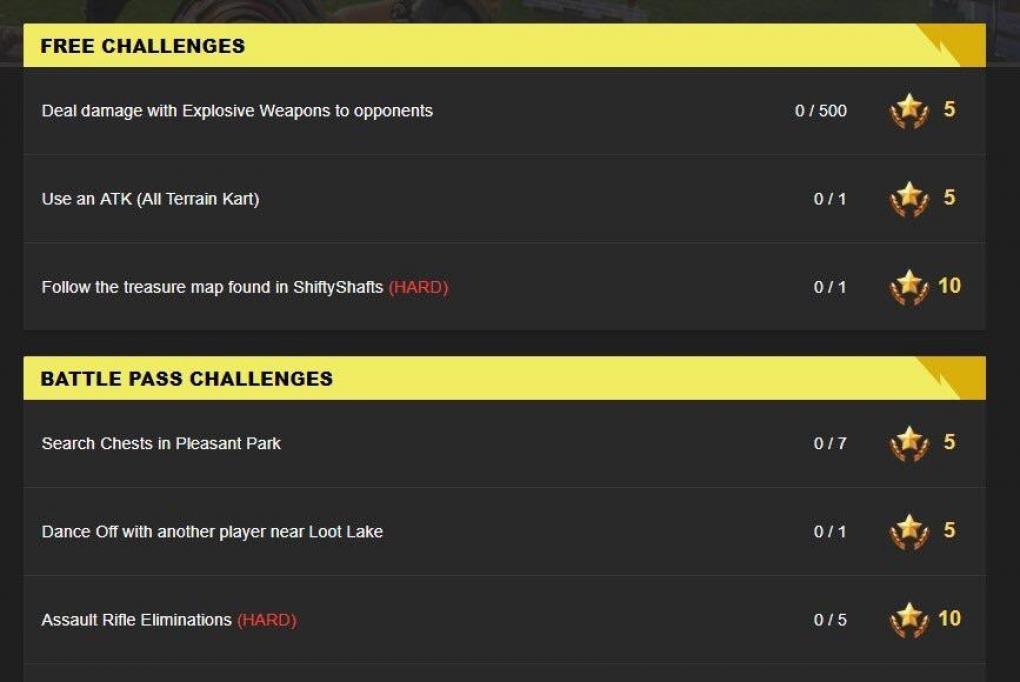 Fortnite Leak Zeigt Herausforderungen Von Woche 9 In Season 5
