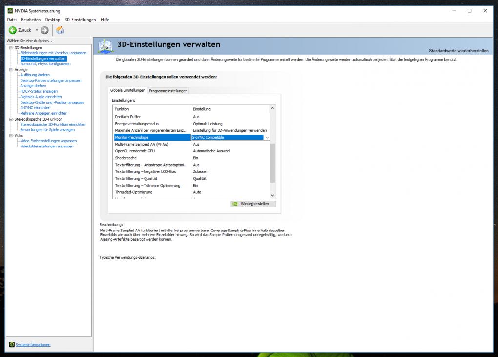 Anleitung für Geforce Compatible: