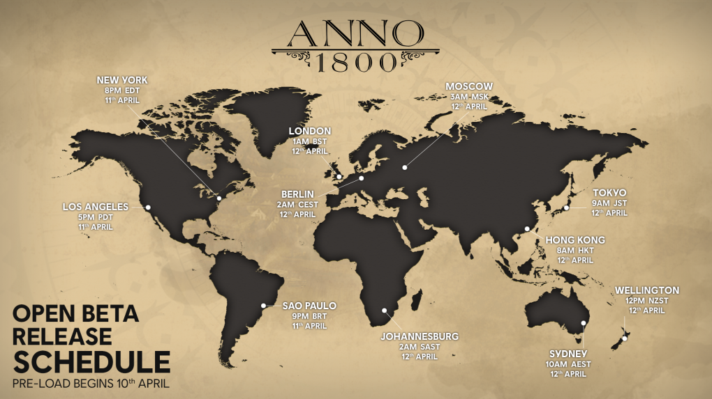 Anno 1800: All details about upcoming Open Beta announced (1)