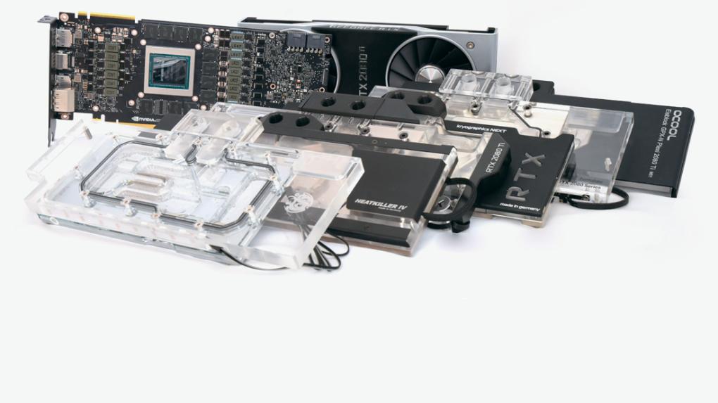 PLUS] Grafikkarten im Vergleichstest: 5 × Geforce RTX 2080 Ti