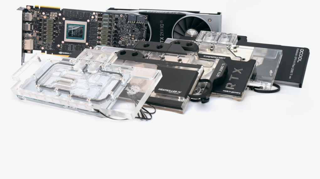 [PLUS]  Six water tanker for Geforce RTX 2080 Ti
