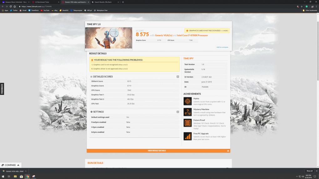 <strong>Radeon RX 5700 XT: Futurmark 3D Mark Time Spy Punkte aufgetaucht</strong>&nbsp; (1)