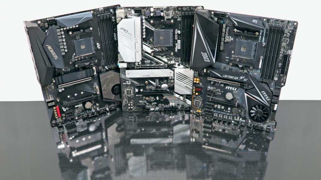 [PLUS] Vergleichstest: Günstige X570-Mainboards für Ryzen 3000