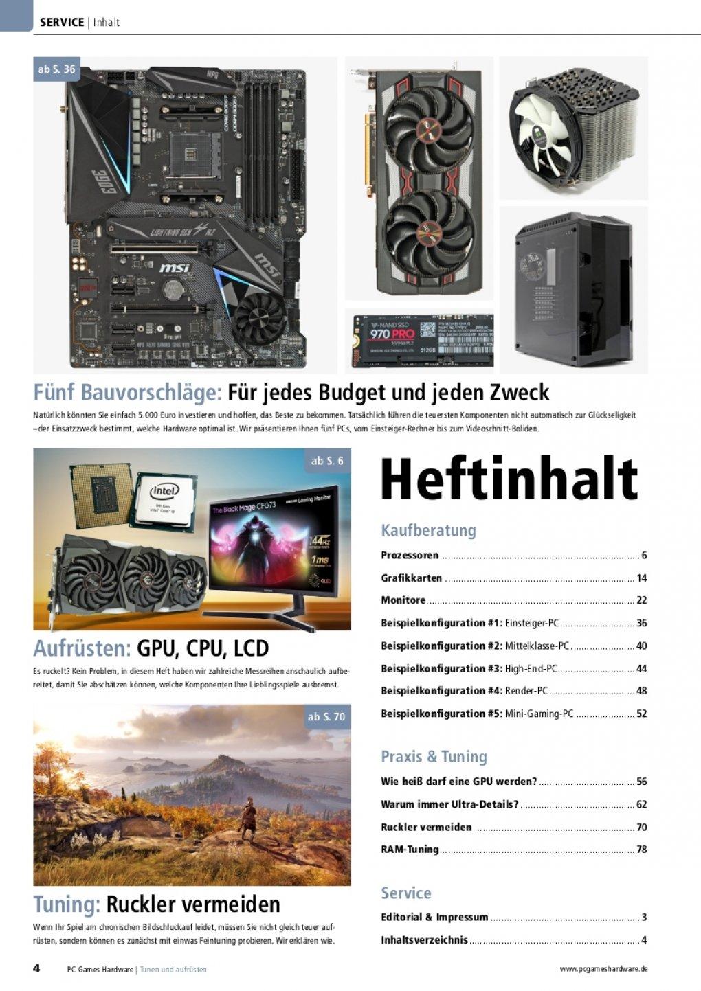 PCGH-Sonderheft 'PC 2020': PC tunen, neu bauen oder aufrüsten? (1)