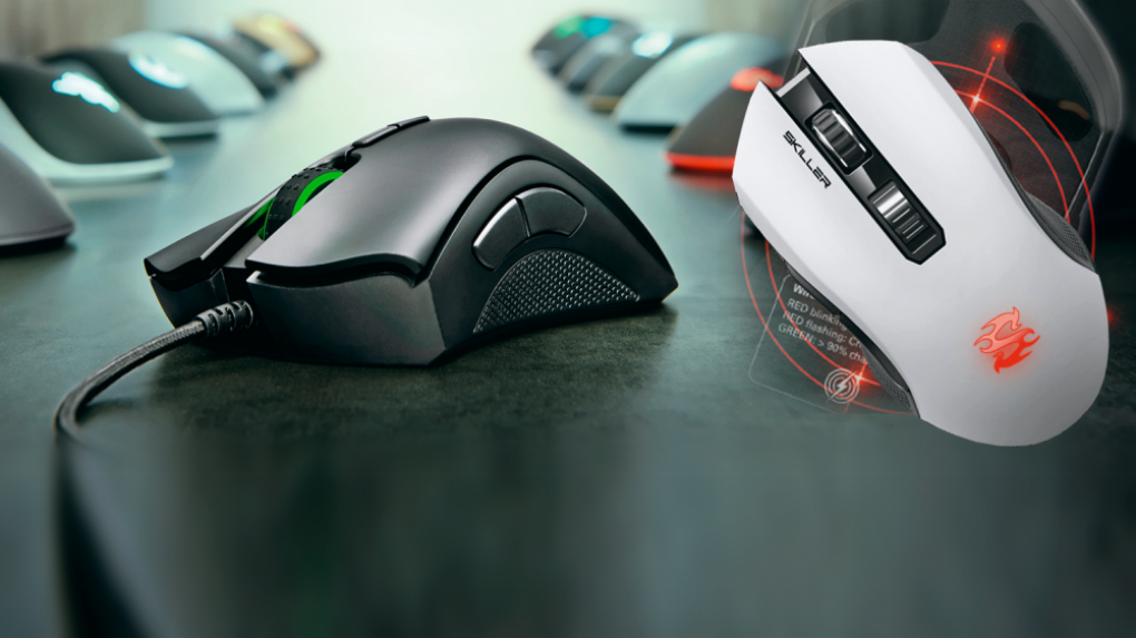 [PLUS]   Six game mice in comparison test: classic remakes for news