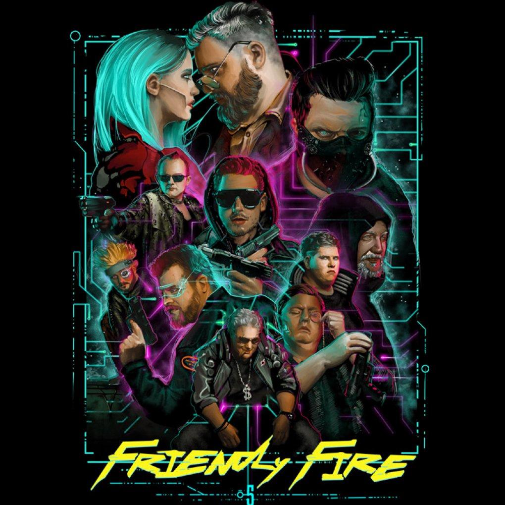 Friendly Fire 5: Charity-Stream kooperiert mit Cyberpunk 2077 (1)