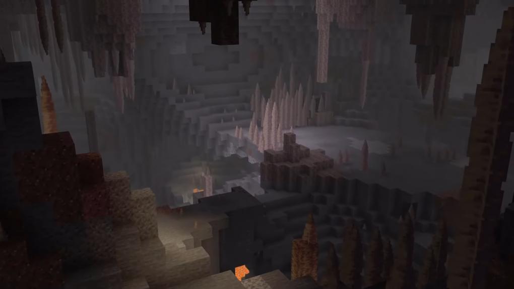 Nuevas cuevas en Minecraft 1.17