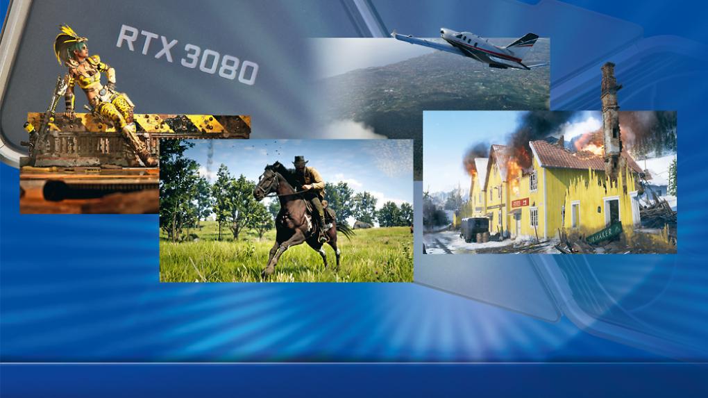 [PLUS]    Geforce RTX 3080: ¿Qué ofrece PCI-Express 4 en Flight Simulator y otros juegos?