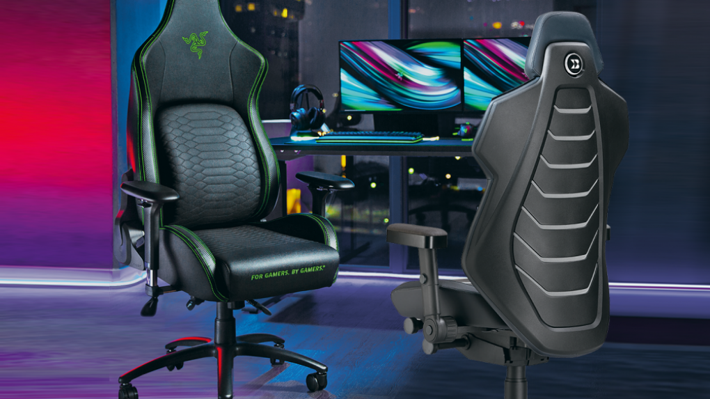 [PLUS-Topseller]    4 gaming chairs and a swivel office chair in a comparison test