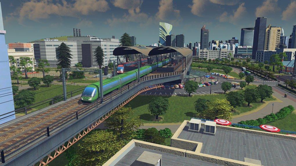 Anda sekarang dapat melintasi kota Anda dengan kereta api.
