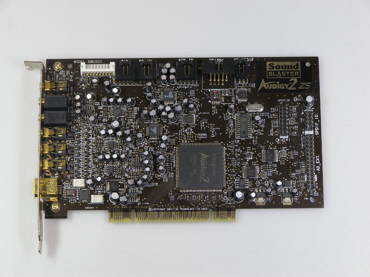 Creative Labs Model SB0090 Sound Blaster Audigy SB1394 Sound Card 10
