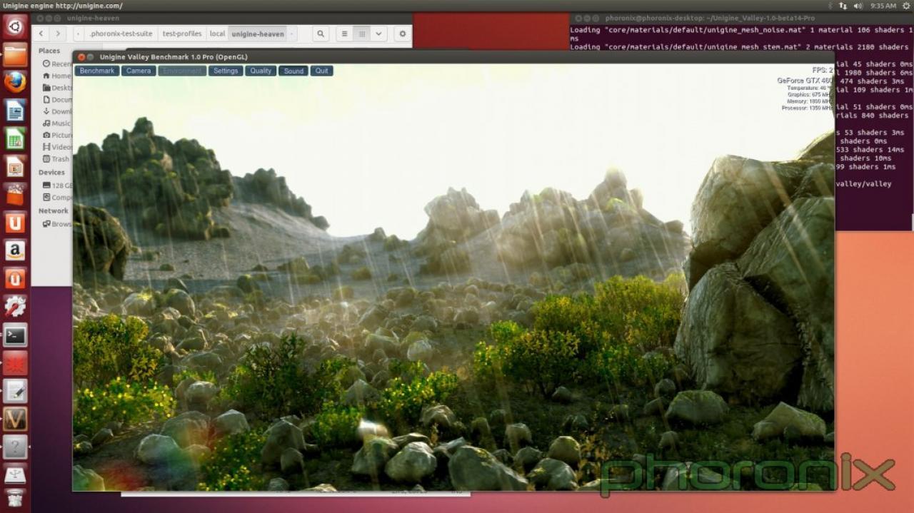 Unigine-Engine: Valley-Demo und Heaven 4 0 unterwegs