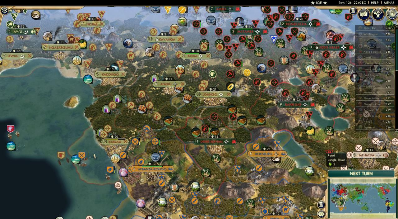 Civilization 5 Battle Royale Zwischen 42 Ki Gegnern Begeistert Zuschauer