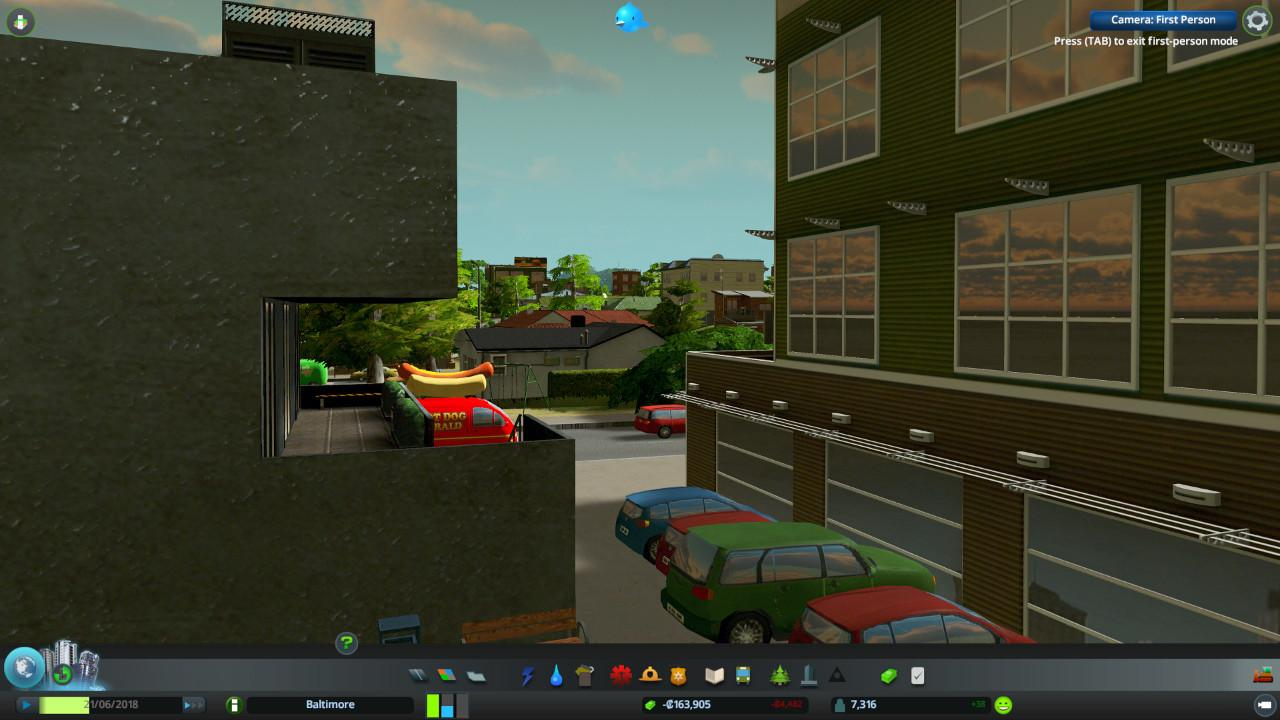 Cities: Skylines - Workshop-Mod erlaubt eine First-Person-Sicht