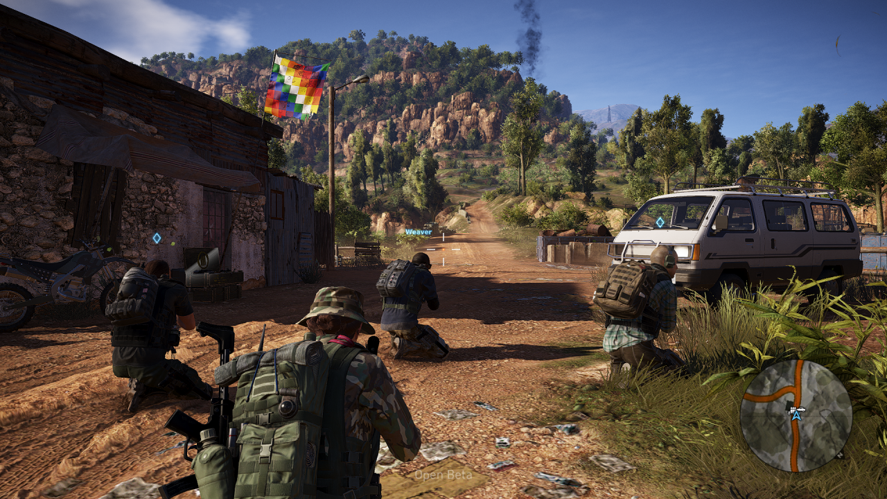 Ghost Recon Wildlands Karte.Ghost Recon Wildlands Grafikkarten Benchmarks Aus Der Open Beta