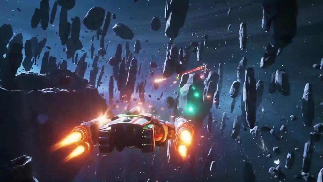 Space Shooter Everspace Neuer Gameplay Trailer Zum Launch