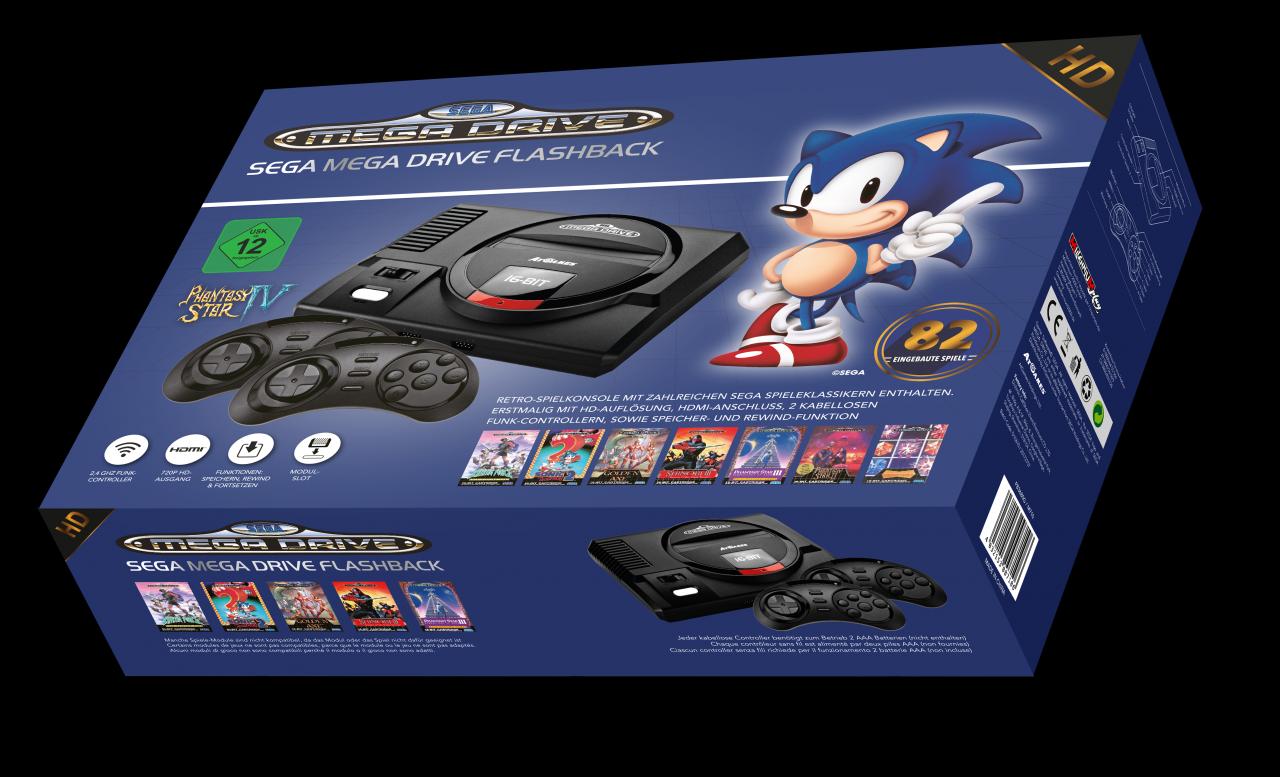 SEGA Mega Drive Flashback HD: Neue Retro-Konsole erschienen