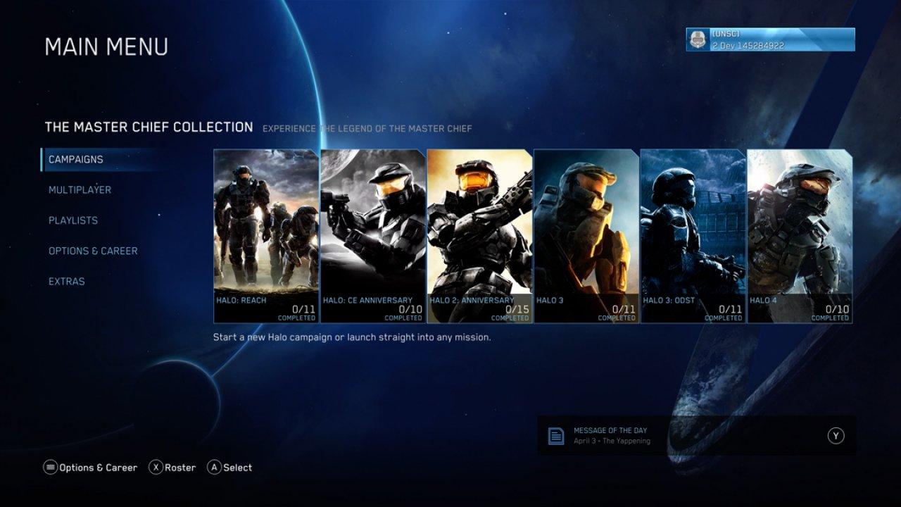 Halo Master Chief Collection April Update Bringt Neue Map Waterfall Und Mehr