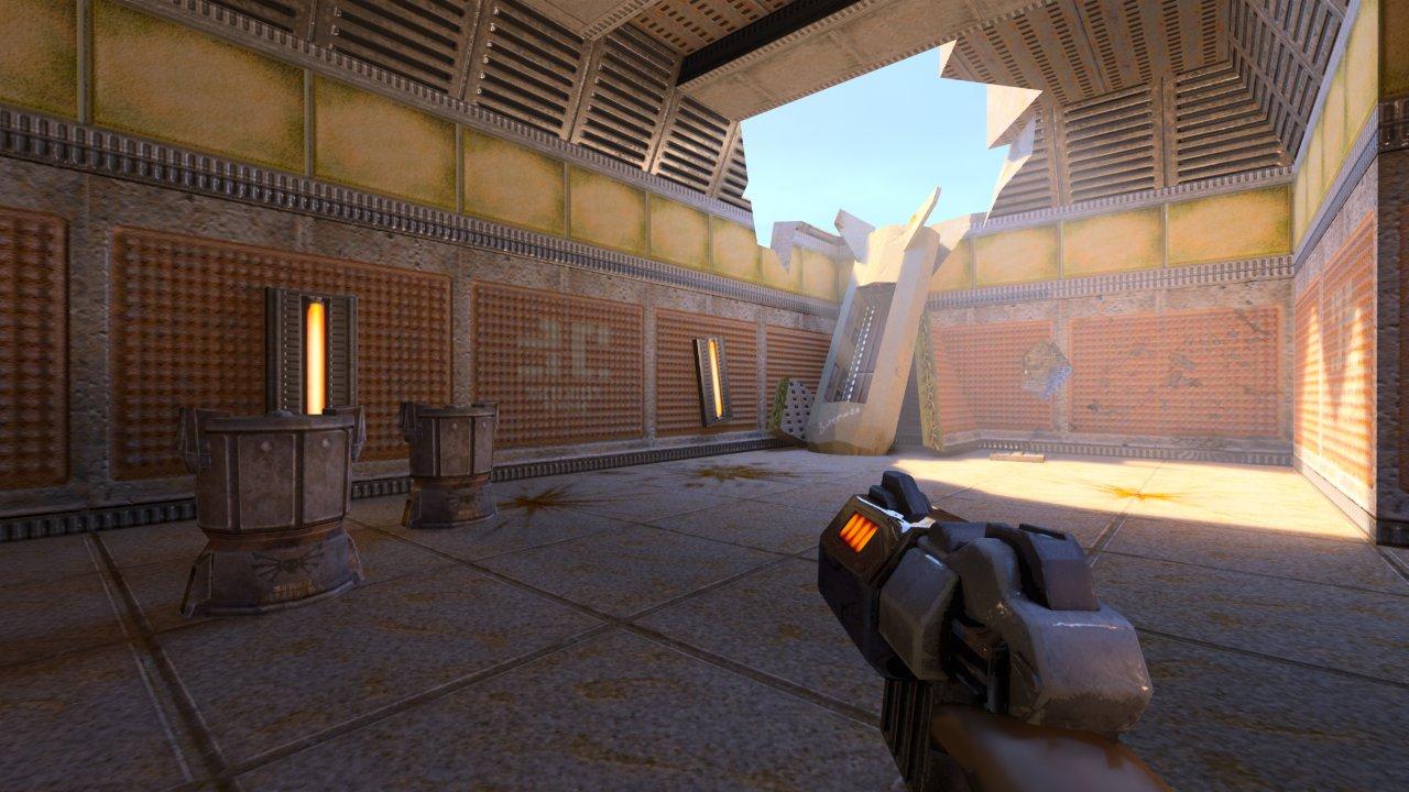 Quake 2 RTX: HD-Texturen dank KI-Unterstützung