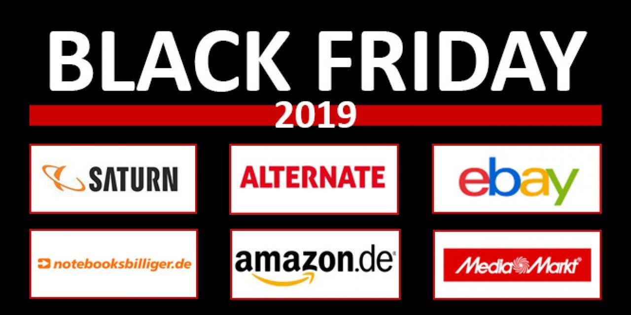 Heute Ist Black Friday 2019 Die Top Deals Von Amazon Alternate Media Markt Saturn Notebooksbilliger
