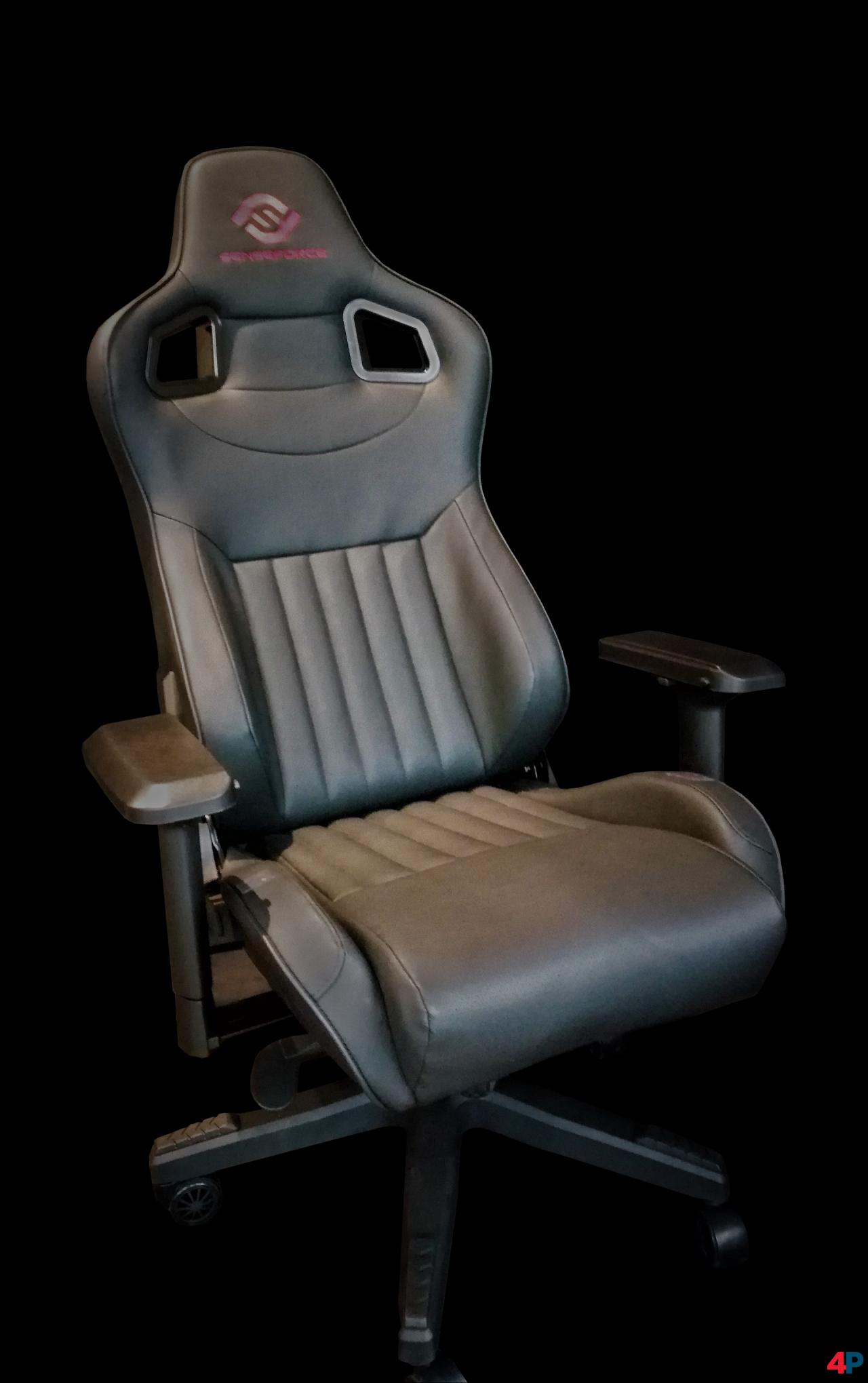 Sense Force Chair Extreme Gaming Stuhl Mit Vibrationseffekten Bei Kickstarter