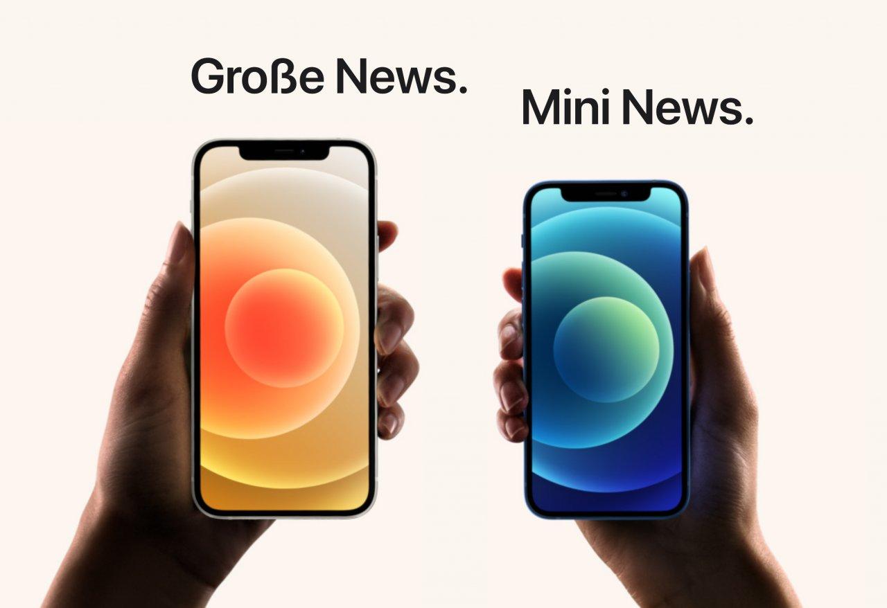 Apple iPhone 21 Mini Kunden greifen lieber zu größeren Smartphones