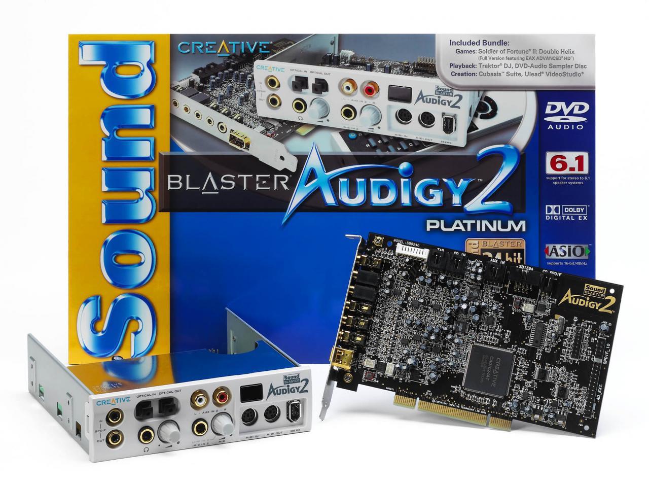 Драйвер Creative Sb Audigy 2 Zs Для Windows Vista