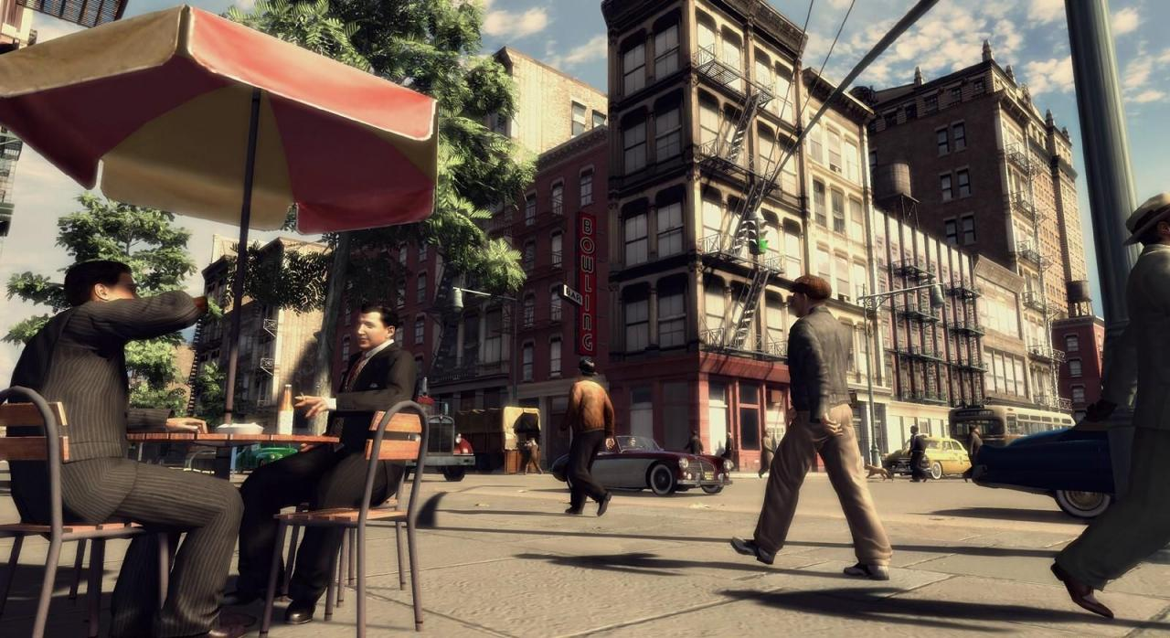 [24/04/08] The four new <b>Mafia 2</b> screenshots are impressiv and reveal a special kind of lighting. The game is said to be released in 2008. Source: <a href=