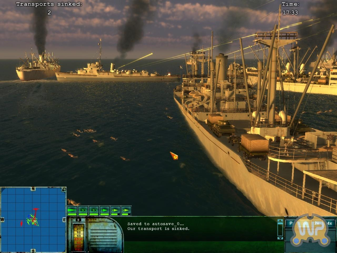 [17/04/08] Neue Screenshots zum maritimen Echtzeitstrategiespiel PT Boats - Knights of the Sea <a href=