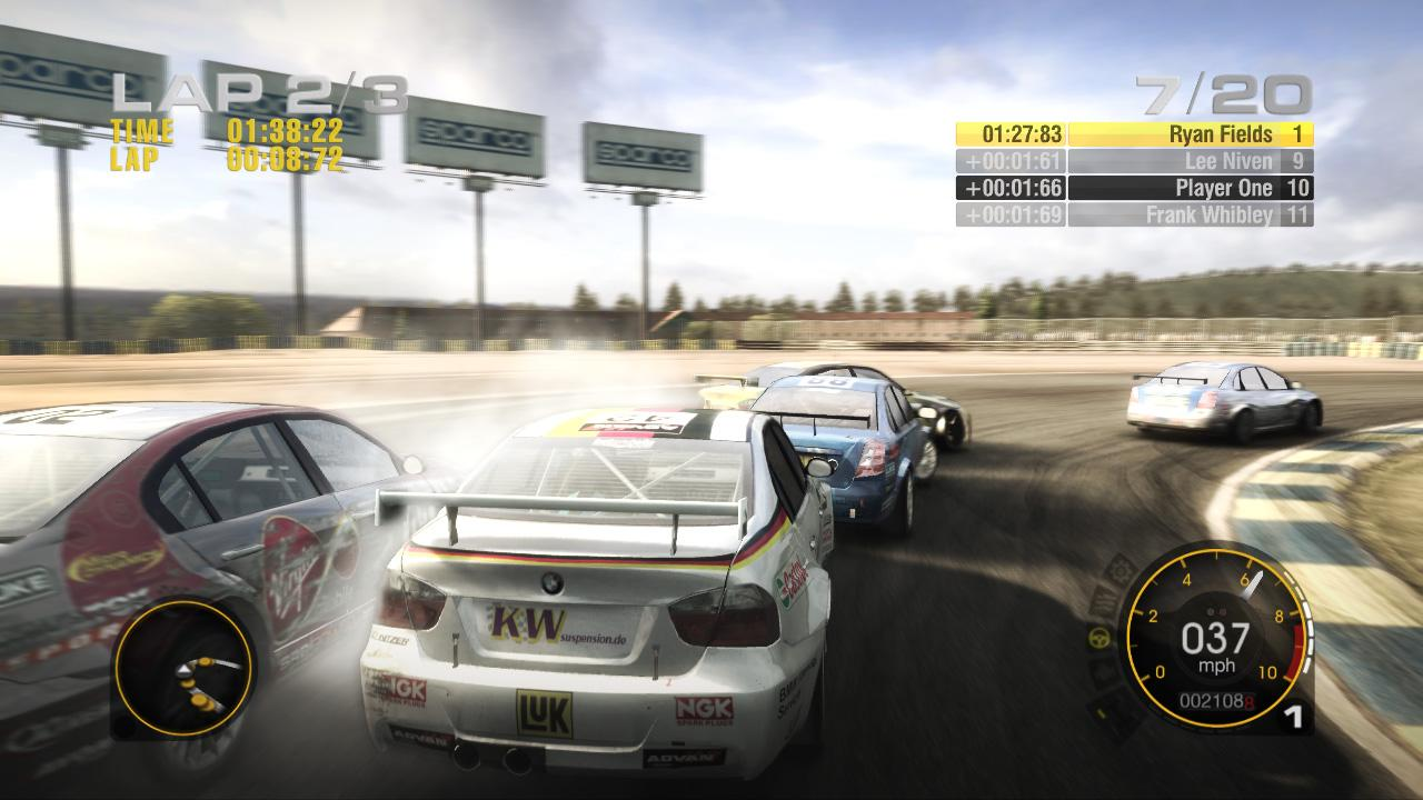 [08/05/08] Due to the release of the Xbox demo version of Codemasters's <b>Race Driver: Grid</b> three new screenshots have been published via Xbox Live. There isn't any information about the release date of the PC demo version, yet.