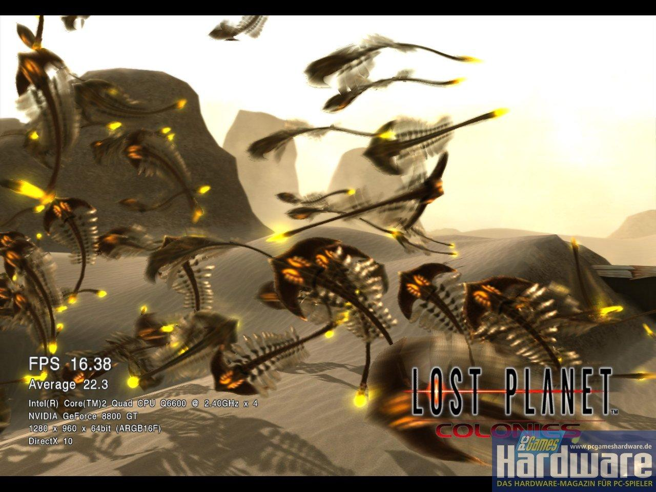 [11/05/08] <b>Lost Planet: Colonies</b> Direct X 10 Benchmark
