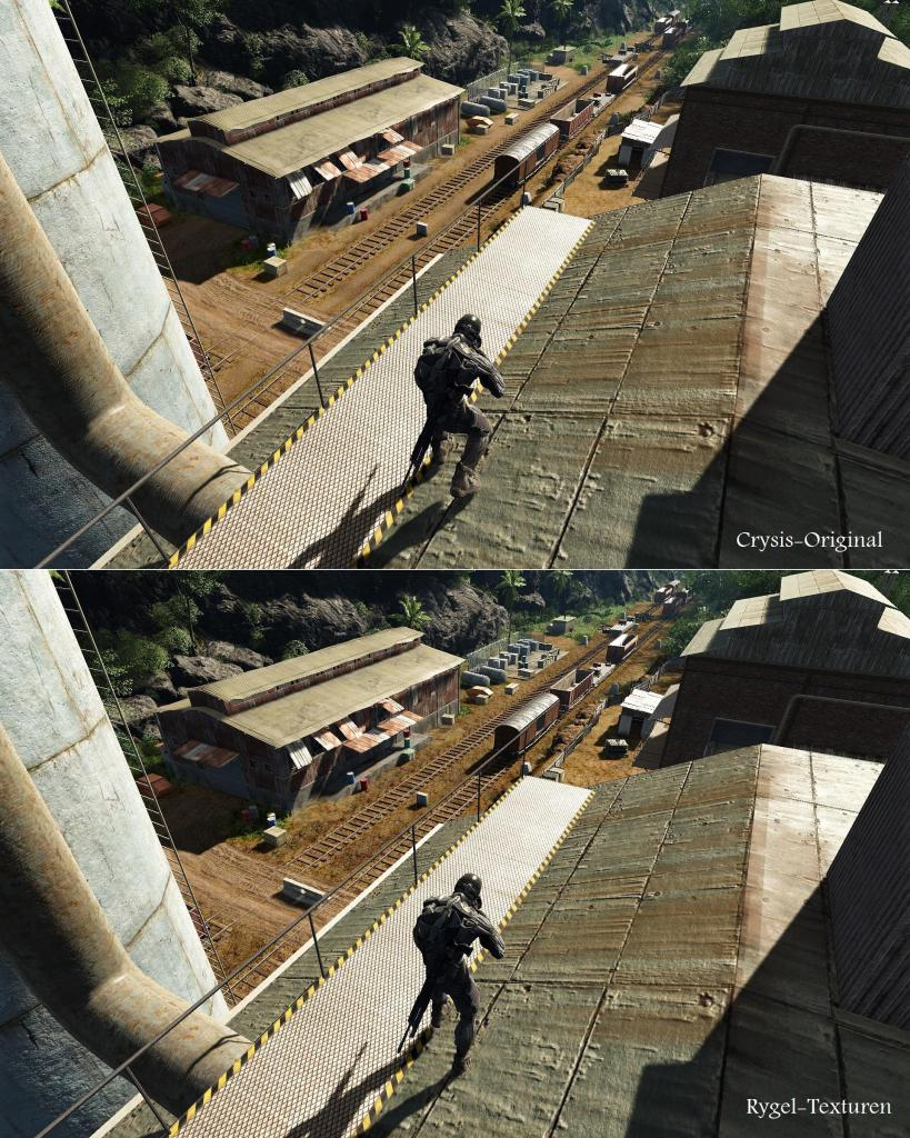 [15/06/08] New pictures from the texture mod for Crysis <a href=