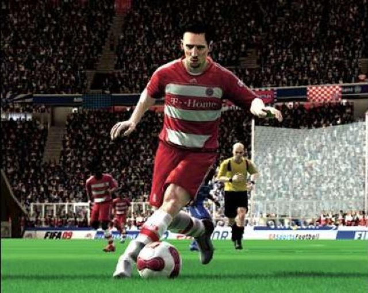 [09/06/08] While the 2008 UEFA European Football Championship started only recently the Portuguese website eurogamer.pt presents the first pictures of Fifa 09. Again there are many recognizable faces and the graphics seem to have been improved, too. (picture: eurogamer.pt)