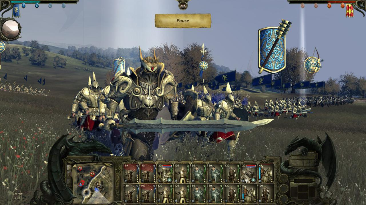 [04/01/12] King Arthur 2: Exklusive technical interview - More than 100.000 polygons on the battlefield (9)