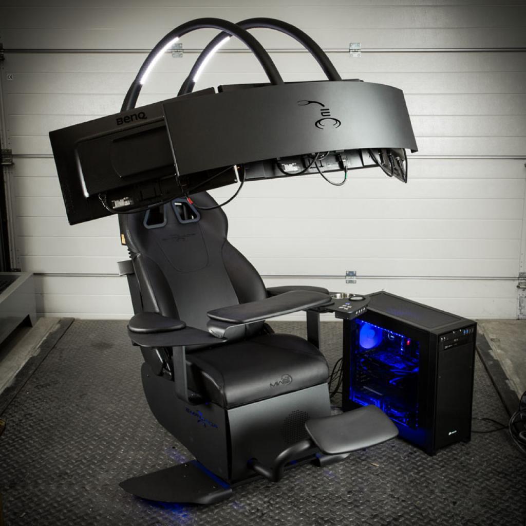 Mwe Lab Emperor Chair 1510 Einstellbarer Sessel Mit