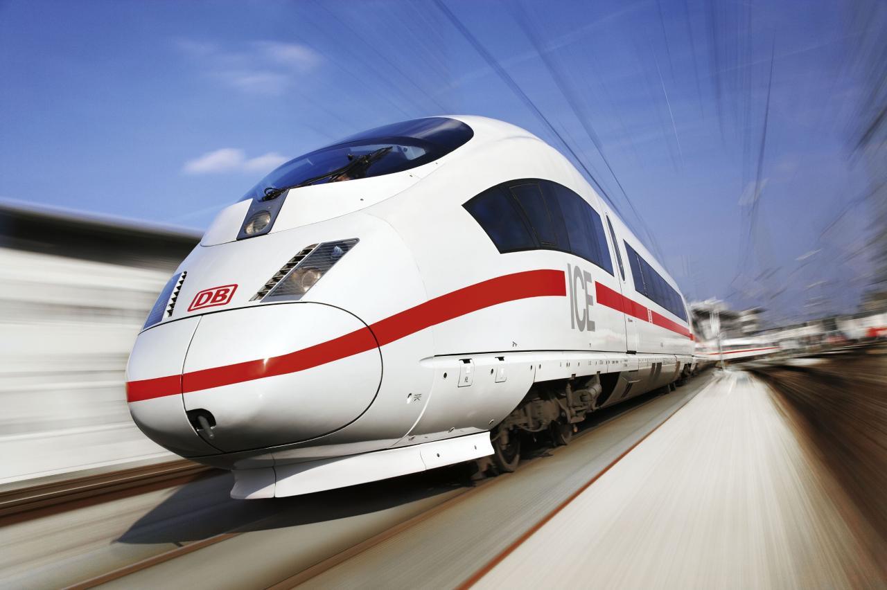 Deutsche Bahn: Die ICE-Flotte soll mit Filmen und Spielen per WLAN ...
