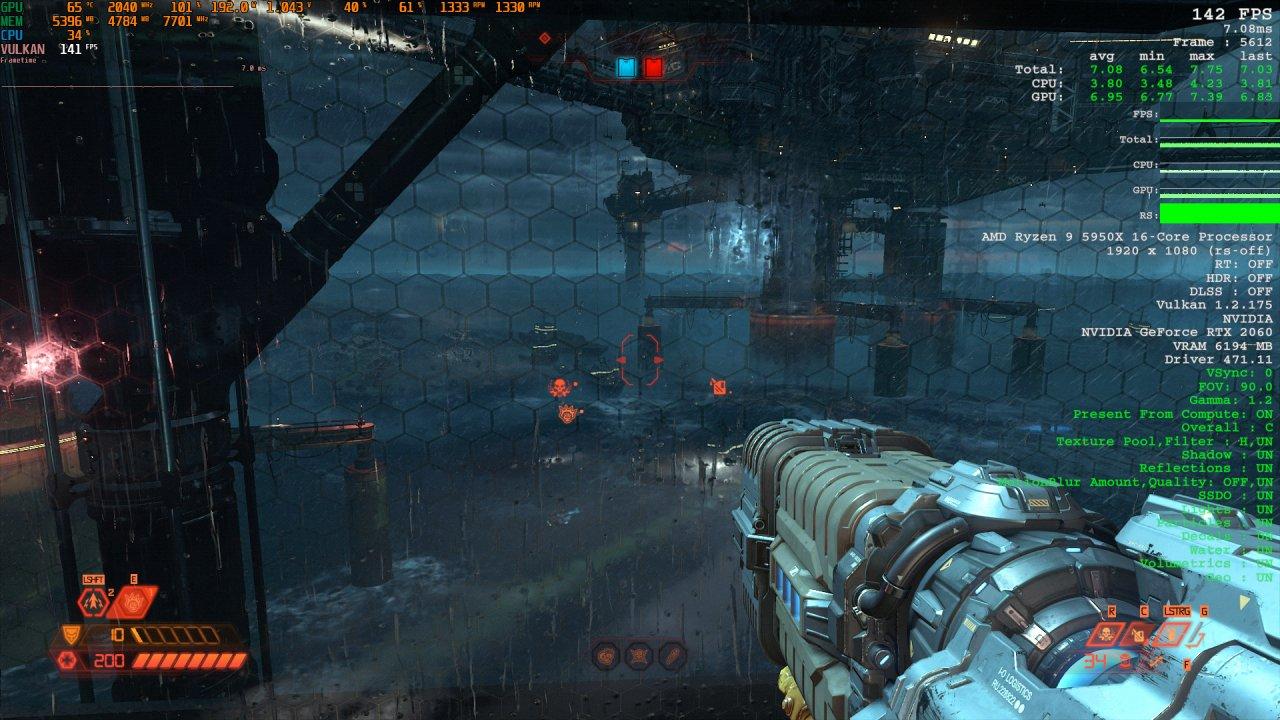 Doom Eternal Raytracing Comparison 1 Raytracing off