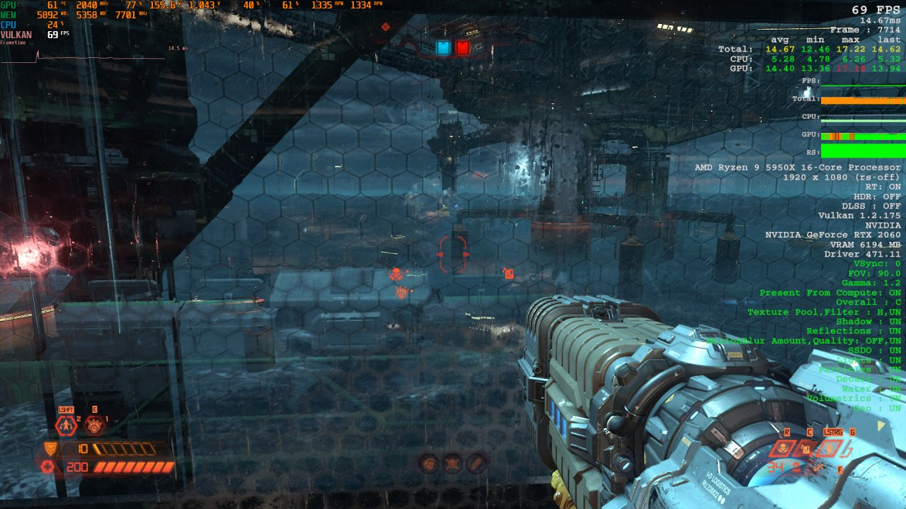 Doom Eternal Raytracing Comparison 1 Raytracing on