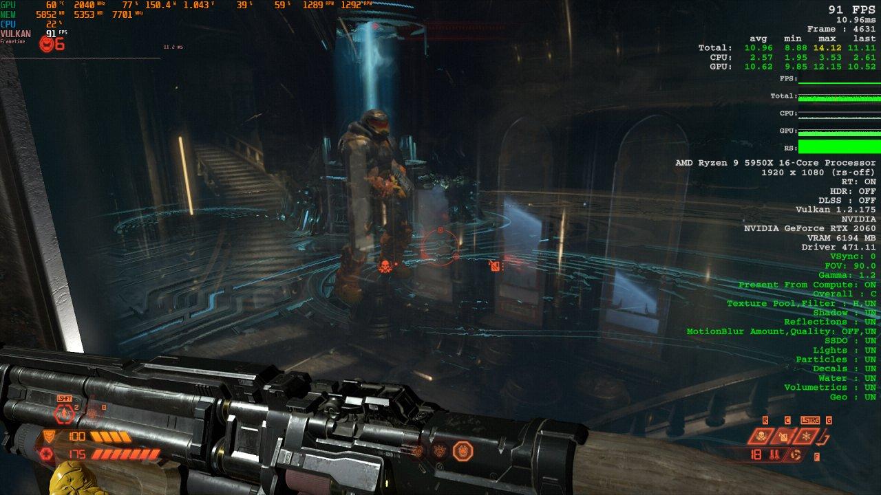 Doom Eternal Raytracing Comparison 6 Raytracing on