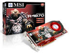 With the [b]R4870-T2D1G[/b] MSI announces a [b]Radeon HD 4870[/b] with 1 GiByte video memory (picture: tcmagazine.com)