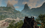 "Crysis Warhead: in-game ""Gamer"" setting (picture: PCGH)"