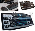 Logitech G18 compared to G11 and G15