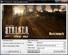 Stalker - Clear Sky: The Benchmark Tool