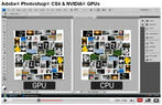 Adobe Photoshop CS4: GPU versus CPU