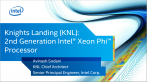 Knights Landing KNL 2nd Generation Intel Xeon Phi Processor  (1)